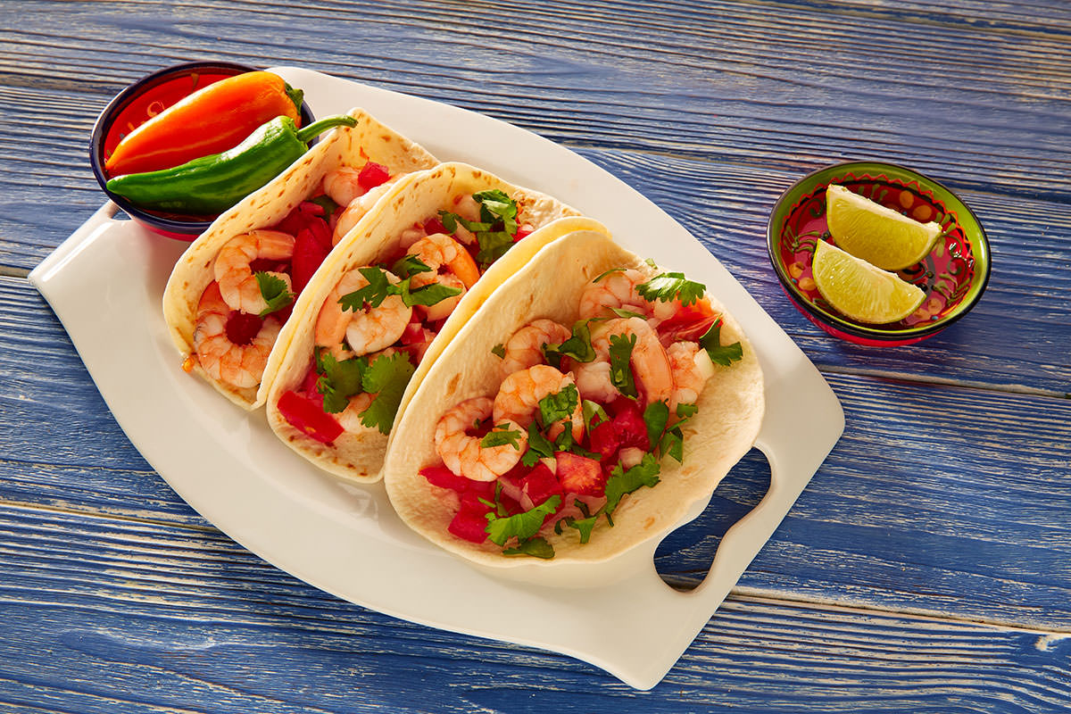 Bambú Clinic shrimp tacos recipes